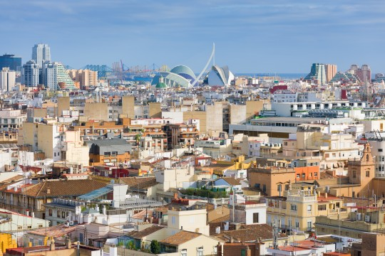 Valencia a summer day