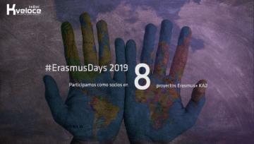 Kveloce I+D+i participa en 8 proyectos Erasmus+