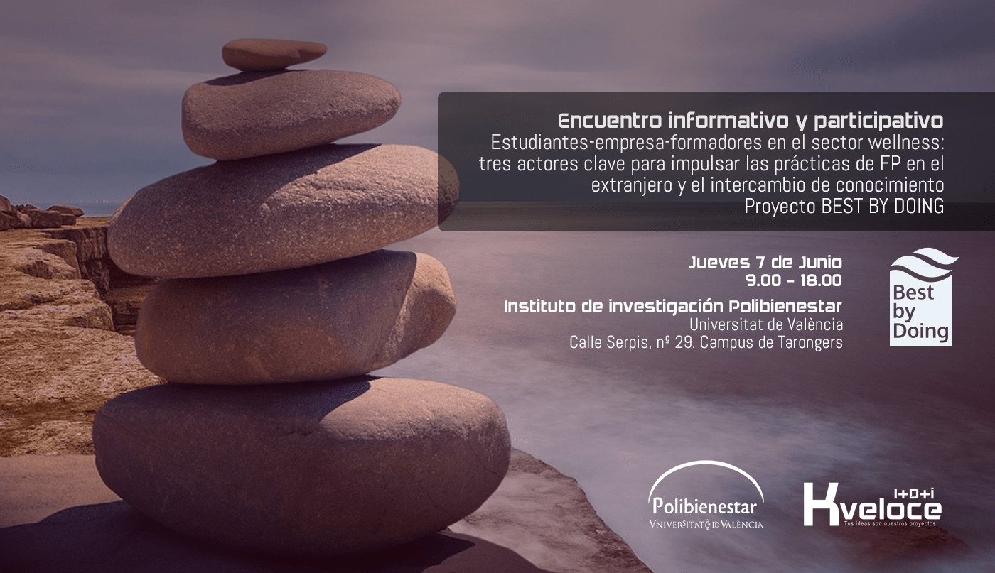 Save the date: evento del proyecto Best By Doing en Polibienestar (Universidad de Valencia)